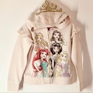 Disney Princesses Zip Hoodie